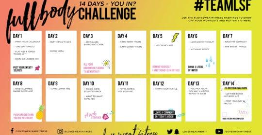 14 Day Full Body Challenge
