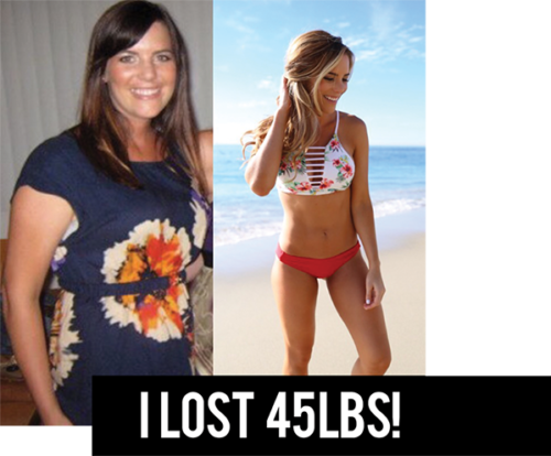 how i lost 45 pounds weight loss transformation