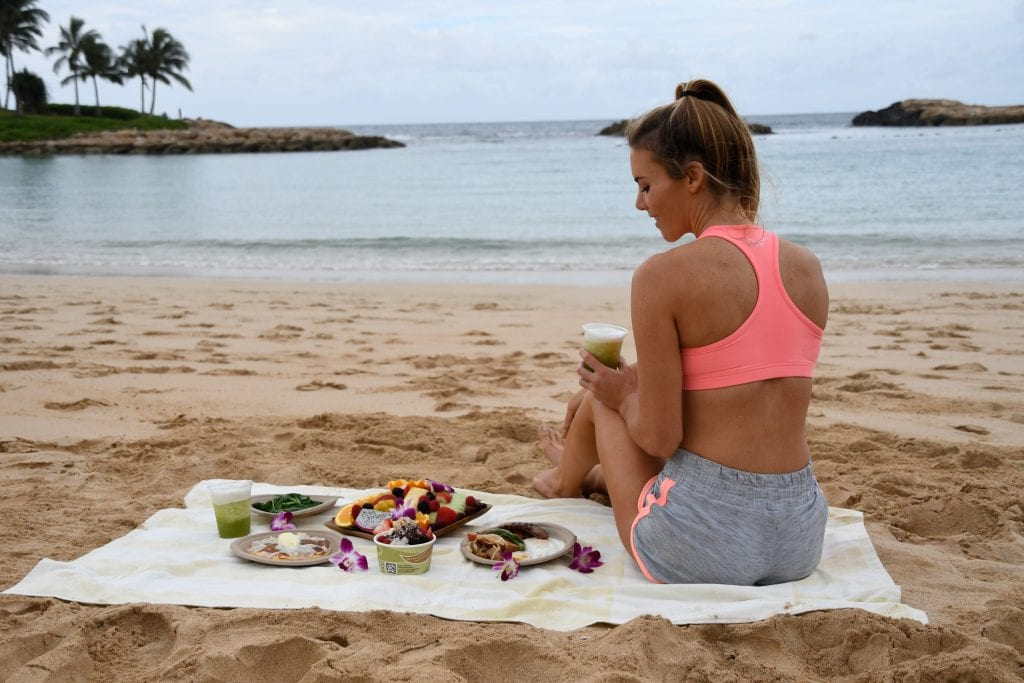 hawaii beach breakfast