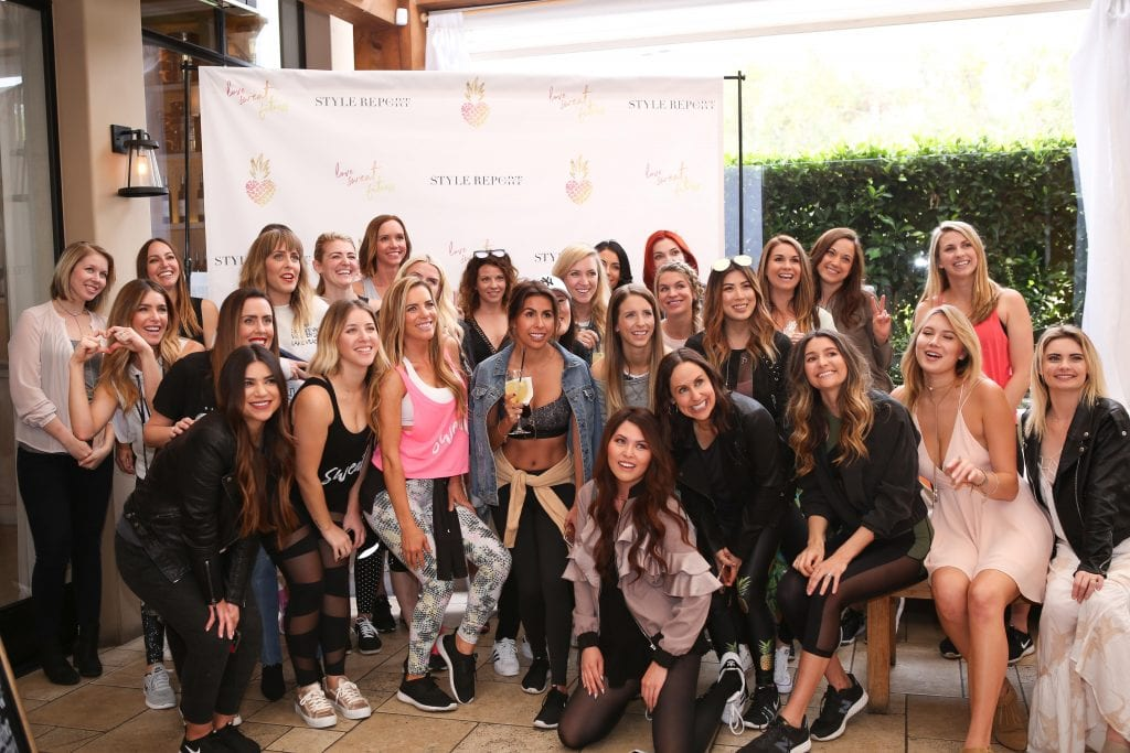 All The girls at the LSF Launch