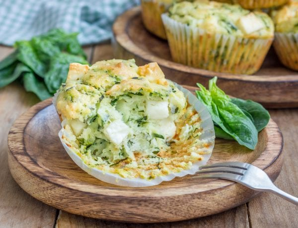 spinach breakfast muffin